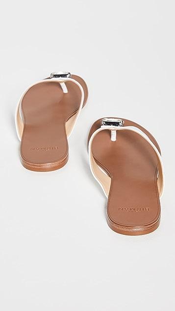 Alexandre Birman Antonia Crystal 平底凉鞋