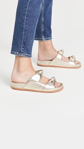 Alexandre Birman Clarita Slide 皮凉鞋