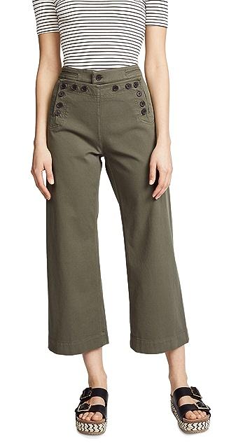 A.L.C. Pierce Twill Sailor Pants