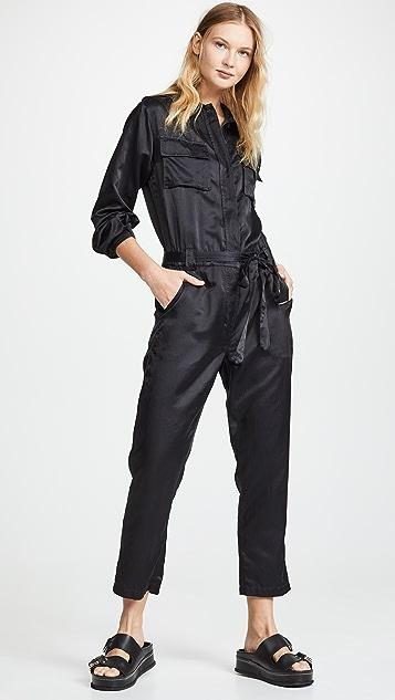 A.L.C. Jeter Jumpsuit - Vintage Black