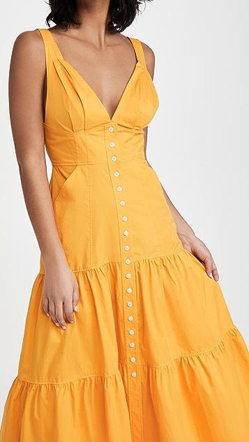 A.L.C。 Jordyn 连衣裙