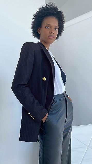 A.L.C。 Chadwick 细条纹夹克