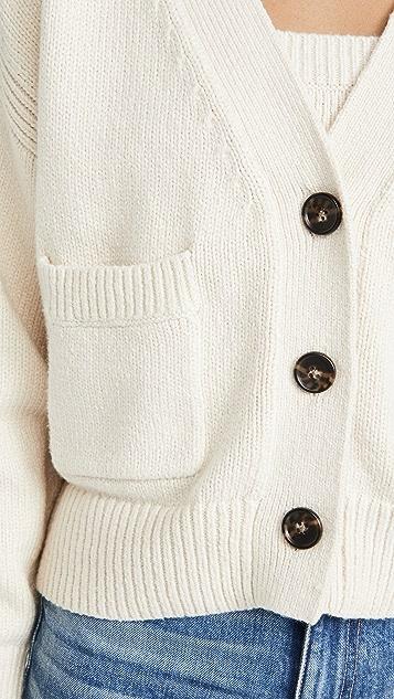 A.L.C. Vincent 系扣衫