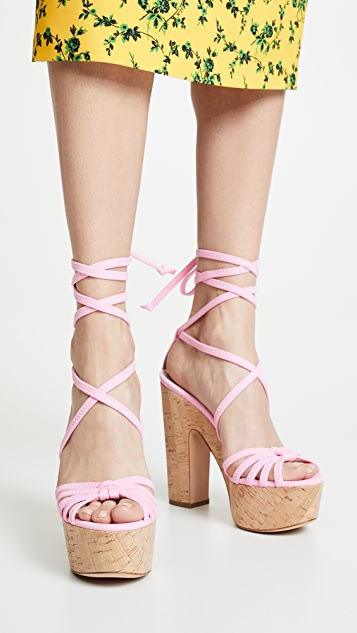 Alchimia di Ballin Bikini 厚底凉鞋