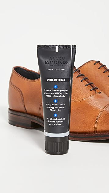 Allen Edmonds Speed Polish - Walnut