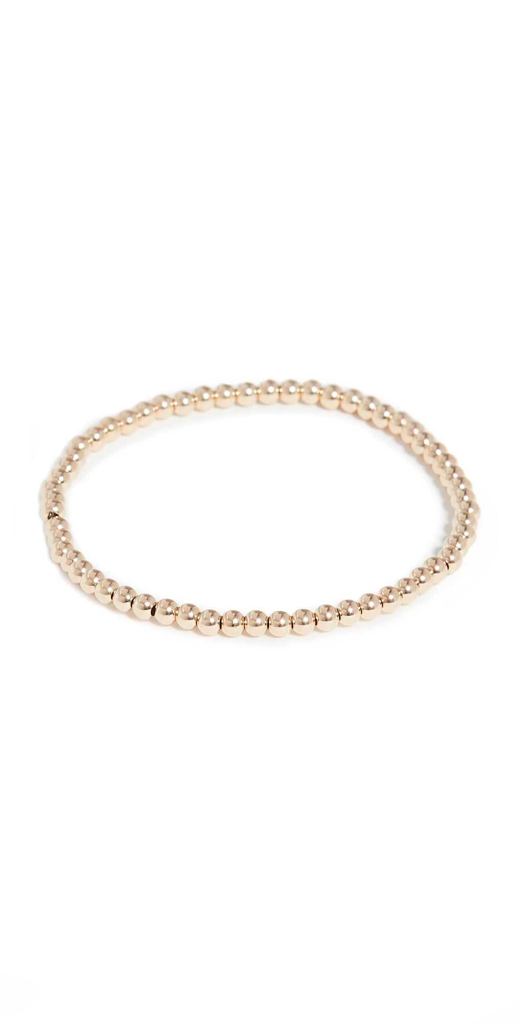 3mm Gold Bracelet