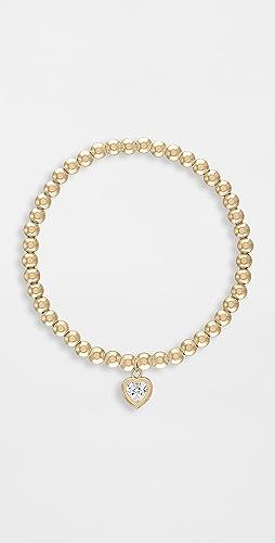 Alexa Leigh - 4mm All My Heart Gold Bracelet