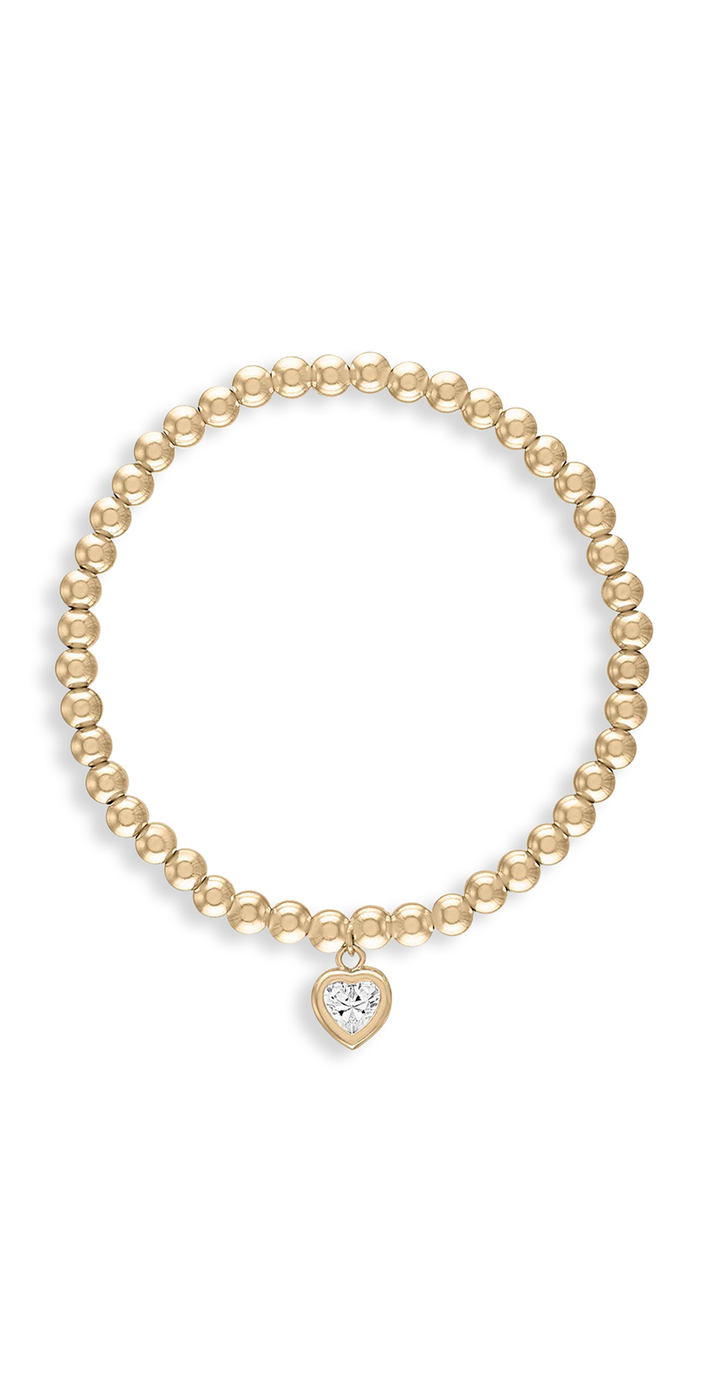 4mm All My Heart Gold Bracelet