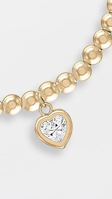 Alexa Leigh 4mm All My Heart Gold Bracelet