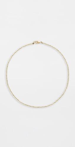 Alexa Leigh - 2mm Yellow Gold Necklace