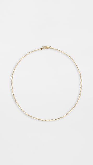 Alexa Leigh 2mm Yellow Gold Necklace