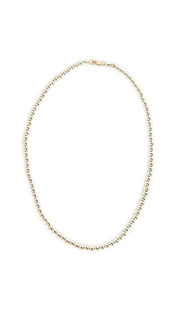 Alexa Leigh 4mm Yellow Gold Necklace