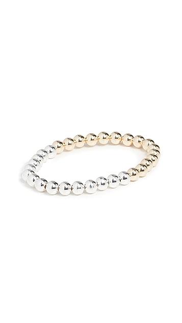 Alexa Leigh Two Tone 6mm Bracelet
