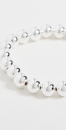 Alexa Leigh - 8MM Sterling Silver Bracelet