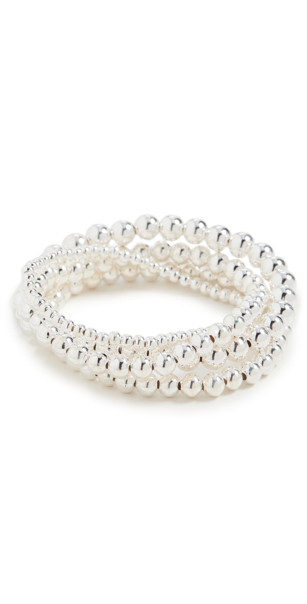 Sterling Silver Foursome Bracelets