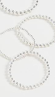 Alexa Leigh Sterling Silver Foursome Bracelets