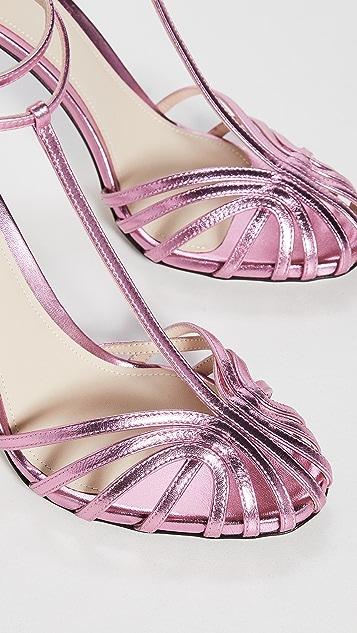 Alevi Milano Stella 网状绑带凉鞋