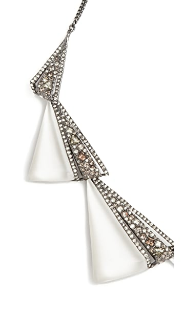 Alexis Bittar Graduated Origami Bib Necklace