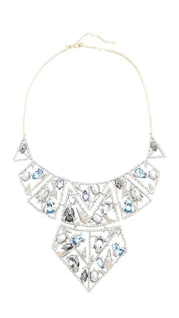 Alexis Bittar Mosaic Lace Bib Necklace