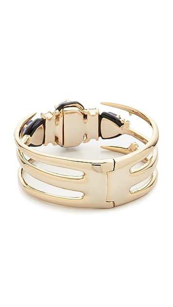 Alexis Bittar Spike Frame Hinge Bracelet