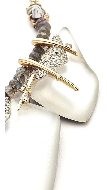 Alexis Bittar Abstract Petal Bib Necklace
