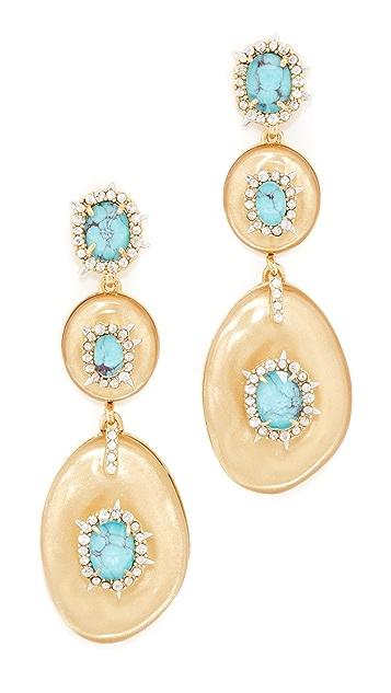 Alexis Bittar Liquid Silk Dangling Earrings