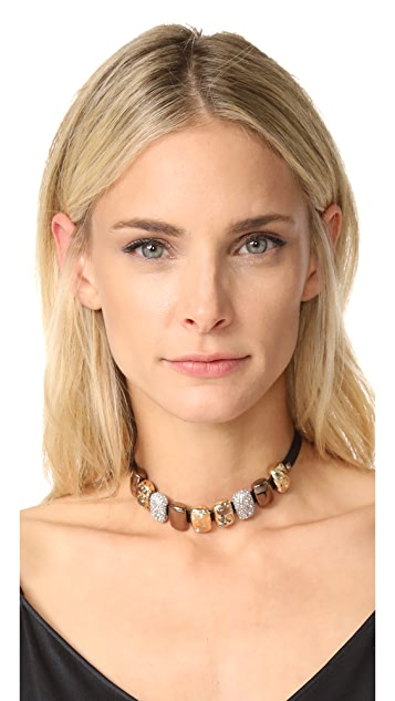 Alexis Bittar Crystal Choker Necklace
