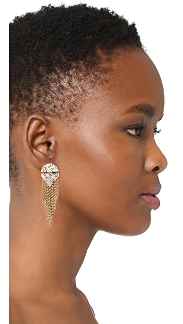Alexis Bittar Fringe Earrings