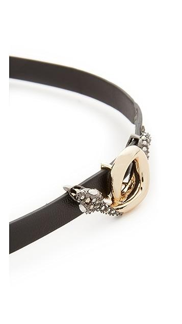 Alexis Bittar Snake Choker Necklace