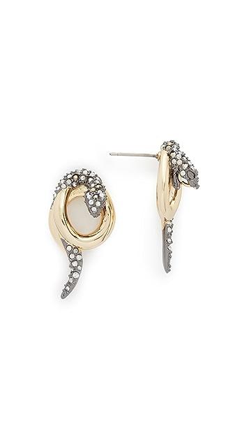 Alexis Bittar Snake Earrings