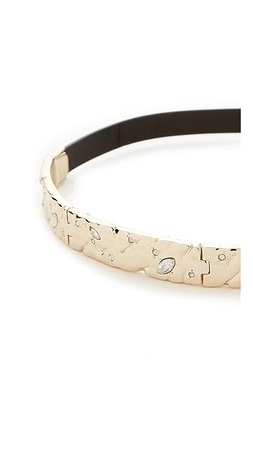 Alexis Bittar Plate Choker Necklace