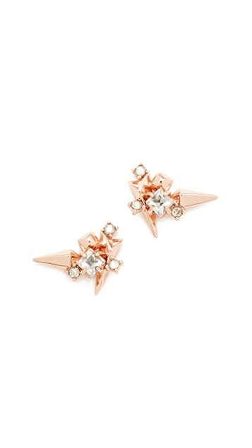 Alexis Bittar Studded Post Earrings