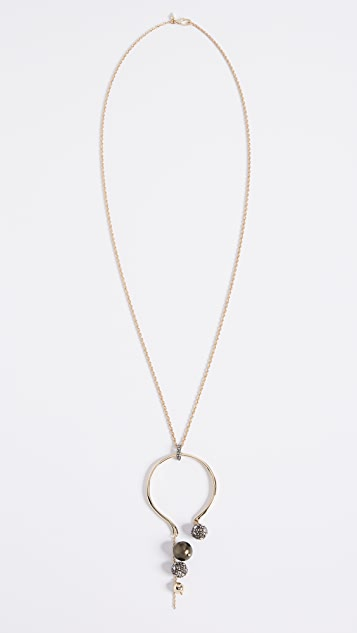 Alexis Bittar Arc Pendant Necklace