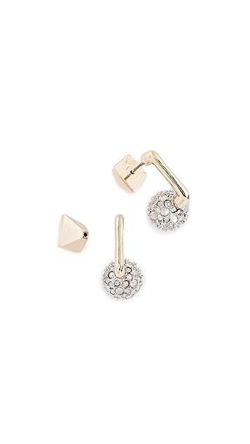 Alexis Bittar Ball Post Earrings