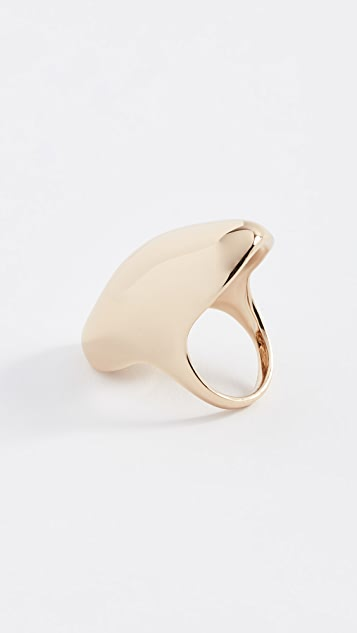 Alexis Bittar Watery Metal Cocktail Ring