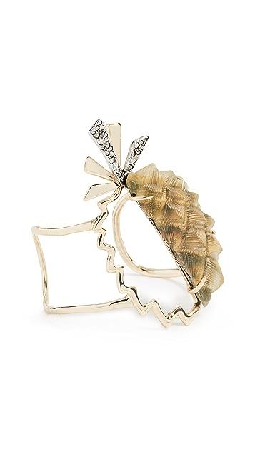 Alexis Bittar Lucite Pineapple Cuff