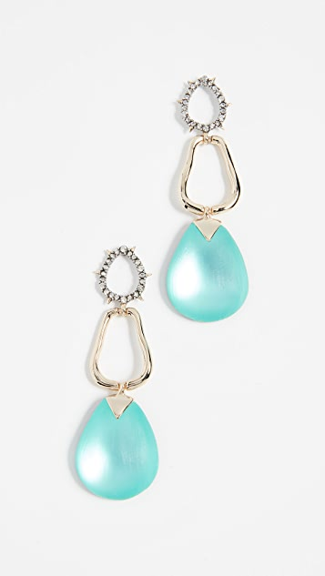 Alexis Bittar Lucite Drop Post Earrings