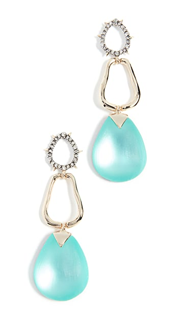 Alexis Bittar Lucite Drop Post Earrings