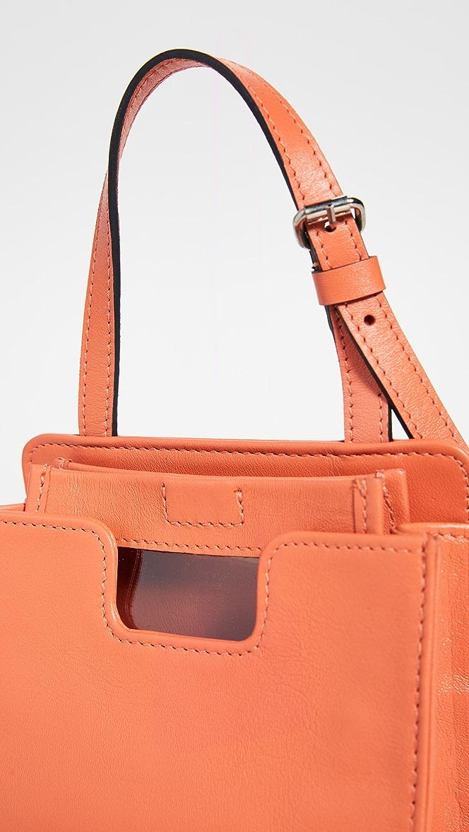 Alfeya Valrina Womens Leather Crossbody Dey Shoulder Handbag Salmon Pink