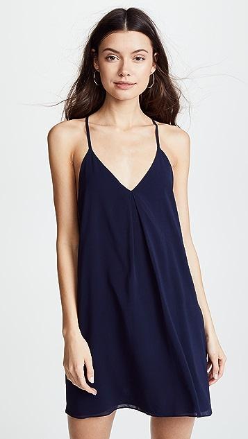 alice + olivia Fierra Dress - Navy