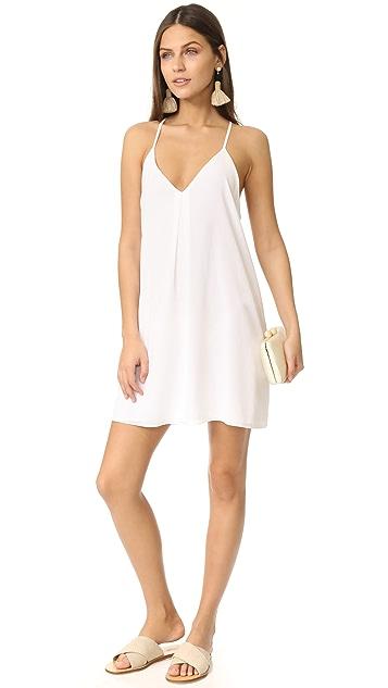 alice + olivia Fierra Y Back Tank Dress