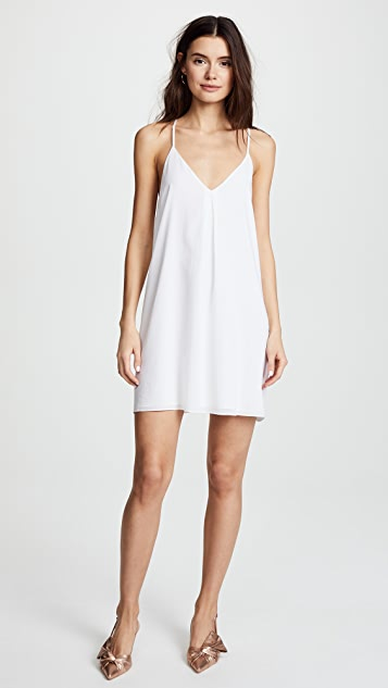 alice + olivia Fierra Y Back Tank Dress