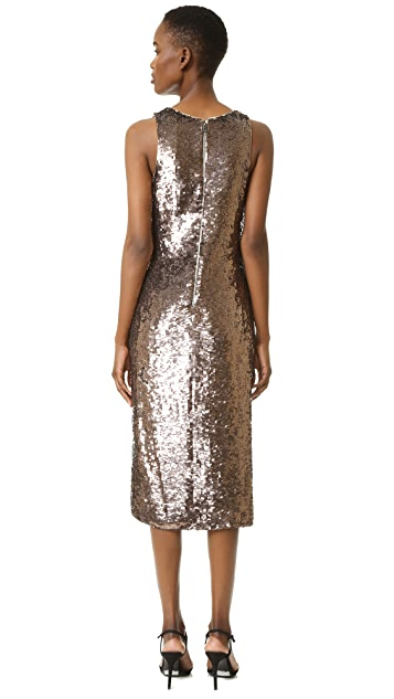 alice + olivia Tyra Sequin Dress