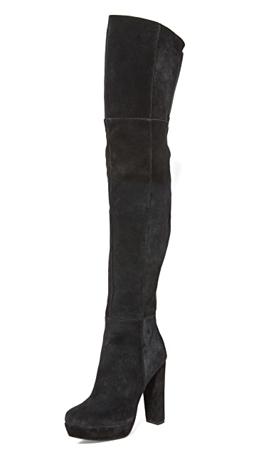 alice + olivia Halle Over the Knee Boots