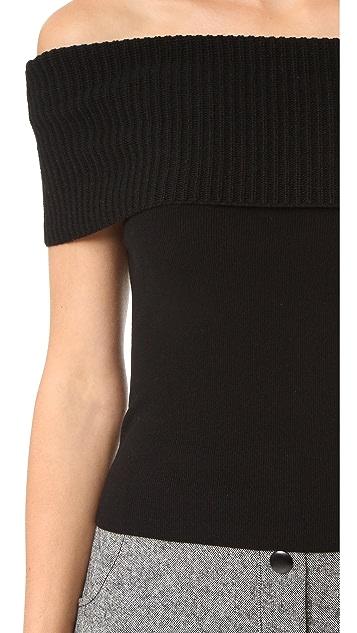 alice + olivia Romi Sleeveless Sweater