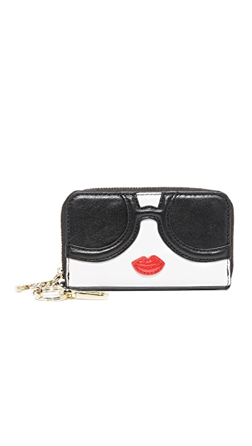 alice + olivia Stace Face Small Wallet