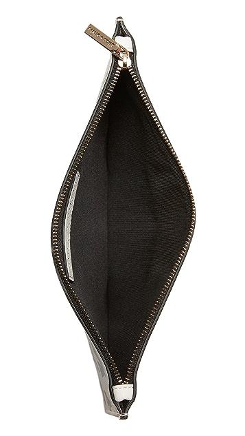alice + olivia Stacey Print Medium Zip Pouch