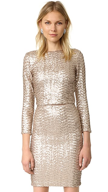 56a3bfe6438bb alice + olivia Lebell Sequin Crop Top