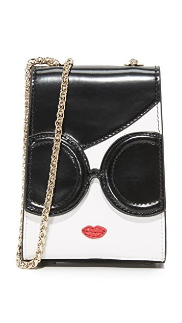 alice + olivia Stacey Face Phone Bag
