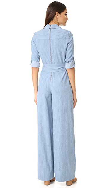 alice + olivia Casy Wide Leg Jumpsuit
